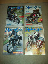 4 THE CLASSIC MOTORCYCLE MAG 1993 british TRIUMPH HARLEY norton V-TWIN bmw