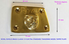 ROYAL ENFIELD BRASS CLASSIC C5 ELECTRA STANDARD TWINSPARK MODEL TAPPET PLATE