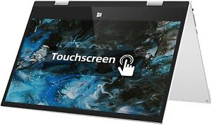 11.6 inch Touch Screen Laptop, 6GB DDR3 128GB ROM, 360 Degree Convertible Tablet