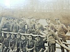 More details for chatham royal engineers ww1 photograph 276 party 1916  -19/23cm