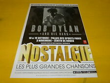 BOB DYLAN and his band - Nostalgie - Publicité de magazine / Advert !!!
