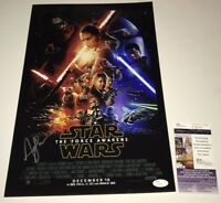 Andy Serkis STAR WARS FORCE AWAKENS Signed 11X17 Photo IN PERSON PROOF JSA COA