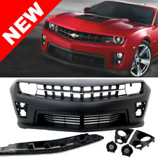 10-13 Chevy Camaro Badgeless ZL1 Style Front Bumper