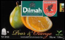 100 bustina del tè Dilmah Pear & Orange flavoured black Fun Tea Ceylon Tè Express