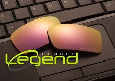 E74 Pink ETCHED POLARIZED Replacement Legend Lenses For Oakley GASCAN 1.5MM