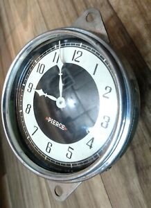 1933 1934 Pierce Arrow Clock. Excellent Condition! Fully Reconditioned! Rare!