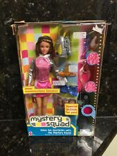 2002 Barbie Mystery Squad Drew doll NIB Never Removed From Box