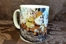 Disney Store Snow White Seven Dwarfs Mini Bean Bag Plush Coffee Mug tea cocoa