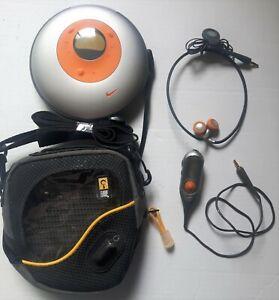 Phillips NIKE Portable Sport Audio CD Player w/Headphones, Remote Control & Case