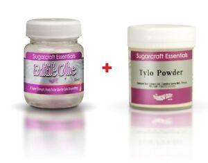 RD Edible Glue Essbarer Kleber 50 ml Lebensmittel + 50 gr CMC Tylo Powder