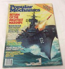 Popular Mechanics June 1982