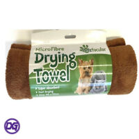 Super Absorbent Pet Drying Towel Microfibre Dogs Cats Puppys Kittens Clean Dry