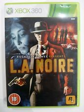 L.A. Noire (Microsoft Xbox 360, 2011). conjunto de 3 Discos Manual Incluido. MBC