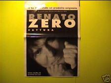RENATO ZERO-Borsina MERCHANDISING ufficiale!! Nuova!!
