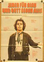 JEDER FÜR SICH UND GOTT GEGEN ALLE (Filmplakat '74) - BRUNO S. / WERNER HERZOG