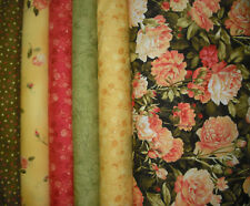 Floral Vignettes Quilt Fabric Collection - 6 Yards
