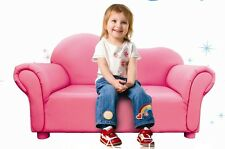 Pink Luxury Two-Seat Sofa Chair/Children's Sofa Couch FREE POST TO SYDNEY