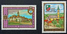 AUTRICHE timbre - Yvert et Tellier n°1763 et 1764 n** stamp Austria (cyn5)