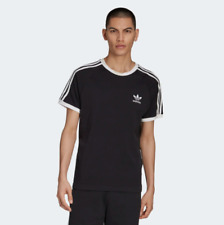 Adidas 3-Stripes Tee A Cotton Tee Inspired Short sleeves T- Shirt Soft Feel