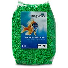Imagitarium Neon Green Aquarium Gravel, 5 lbs