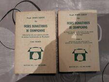 Fiches signalétiques de champignons  Jimmy-Sibert 2 tomes la vie claire 1974/75