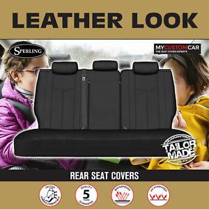 Hyundai iMax TQ 2008-On PU Leather REAR (ROW2) Seat Cover Waterproof Car Custom