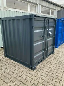 6` Fuss Container, Lagercontainer, Baustellencontainer, Wekzeugcontainer neu