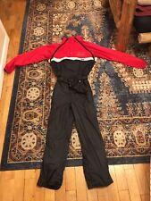 Mens Vintage CB Sports One Piece Skisuit M/L Medium Large Ski Suit Snow