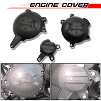 Motorcycle Engine Cover Protector Guard Slider Case for KAWASAKI ER6N ER6F 06-16