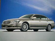 Nissan Cima FOLLETO 2001 JDM F50 GF50 HF50 GNF50 VK45DD 日産 シーマ Infinity Q45 VQ
