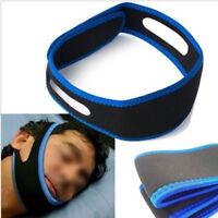 Anti Snore Stop Snoring Sleep Apnea Strap Belt Jaw Solution Chin Support Aid CN