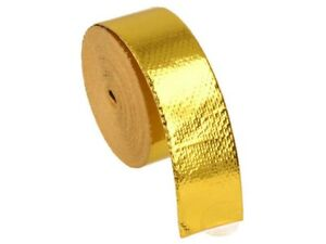 10m Heat Protection tape- Gold - 25mm wide | BOOST products