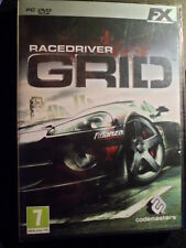 Race Driver Grid PC Nuevo precintado Carreras de coches Racedriver en castellano
