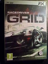 Racedriver Grid PC Nuevo Carreras de coches Race Driver en castellano