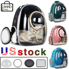 Outdoor Cat Dog Breathable Pet Carrier Bag Travel Transparent Space Backpack Usa