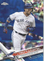 TROY TULOWITZKI 2017 TOPPS CHROME SAPPHIRE EDITION #91 ONLY 250 MADE
