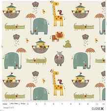 Riley Blake Designs Giraffe crossing 2  Main cream.