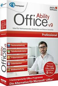 Ability Office 9 Professional Download Alternative f.MS Office EAN 4023126120366