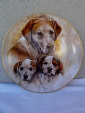 """KERN COLLECTIBLES """" POINTERS """"  MY FAVORITE PETS - Collector's Plate"""