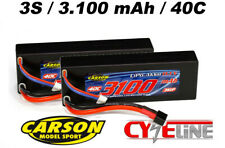 Carson 500608156 Akku Racing Pack 3s 11 1v / 3100 mAh Lipo 40c-