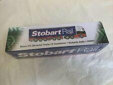 Eddie Stobart Rail Volvo FH Artic Skeletal Trailer Victoria Jade Atlas 1:76 NEW