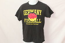 Men's Official Fifa World Cup Germany Fussball Black T-Shirt  - Size M