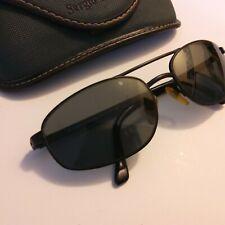 Vtg Sergio Tacchini St1066-S T803 Large Oval Aviator Sunglasses Italy w/ case