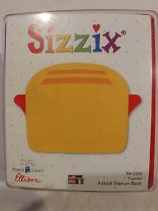 sizzix original dies Toaster brand new sizzix 38 0912