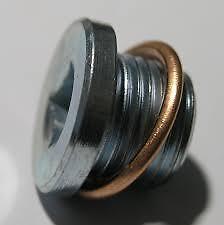 Cárter de aceite de cerebros del cárter enchufe M16 X 1,5 Mm + compresión Cobre Arandela-sup2-Renault