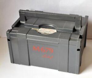 Linhof M 679 6x6 6x9 cm View Camera with Original Case and Adaptors Barely Used