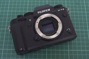 Fujifilm Fuji X-T2, Black, Body only, Boxed, Great, Fast UK Delivery