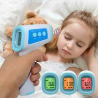 Infrared Non-Contact Digital Thermometer Body Forehead for Fever Baby Adult