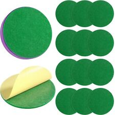 New listing 94 mm Air Hockey Mallet Felt Pads Replacement Air Hockey Pushers Pads Green S...
