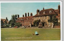 Salisbury, The Close & Mompesson House PPC Unposted, c 1960s, By Salmon